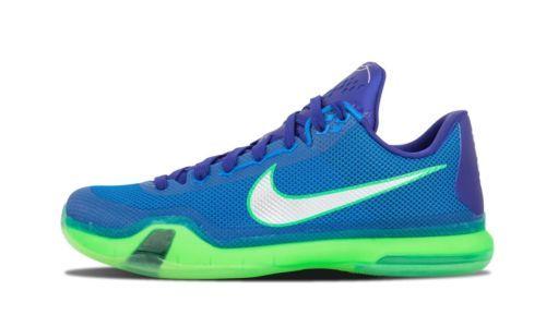NEW Nike Kobe X 10 Low Emerald City Blue Green Seahawks 705317-402 SZ 10.5 Clothing, Shoes & Accessories:Men's Shoes:Athletic #nike #jordan #shoes houseofnike.com $135.00