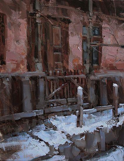 Tibor Nagy - Slumbering Yard- Oil - Painting entry - February 2012 | BoldBrush Painting Competition