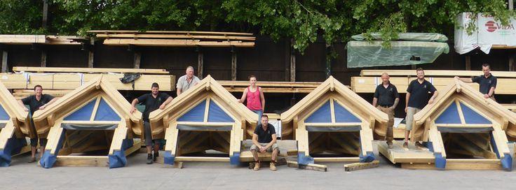 Oakwrights Encapsulation, design and workshop team.