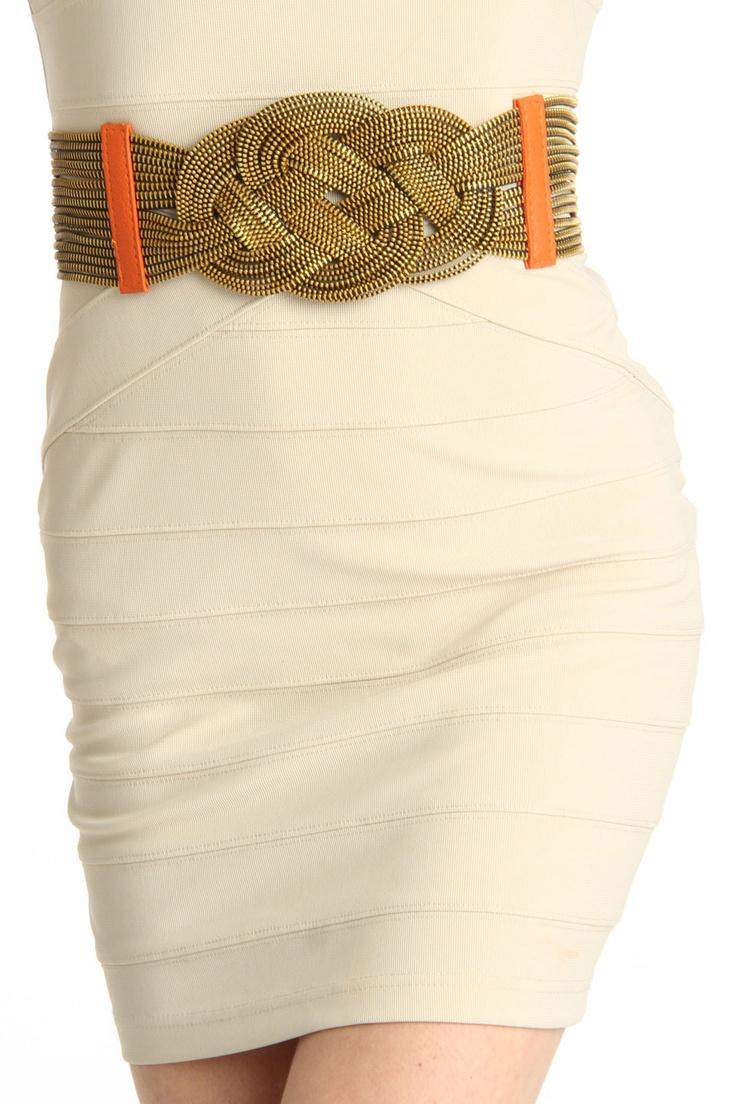 Gorgeous Woven Belt.