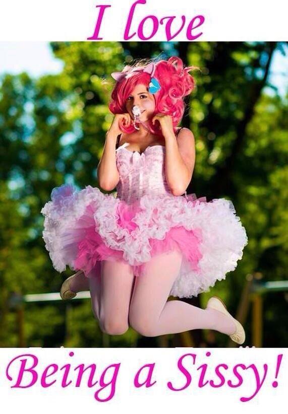 I love being a sissy!