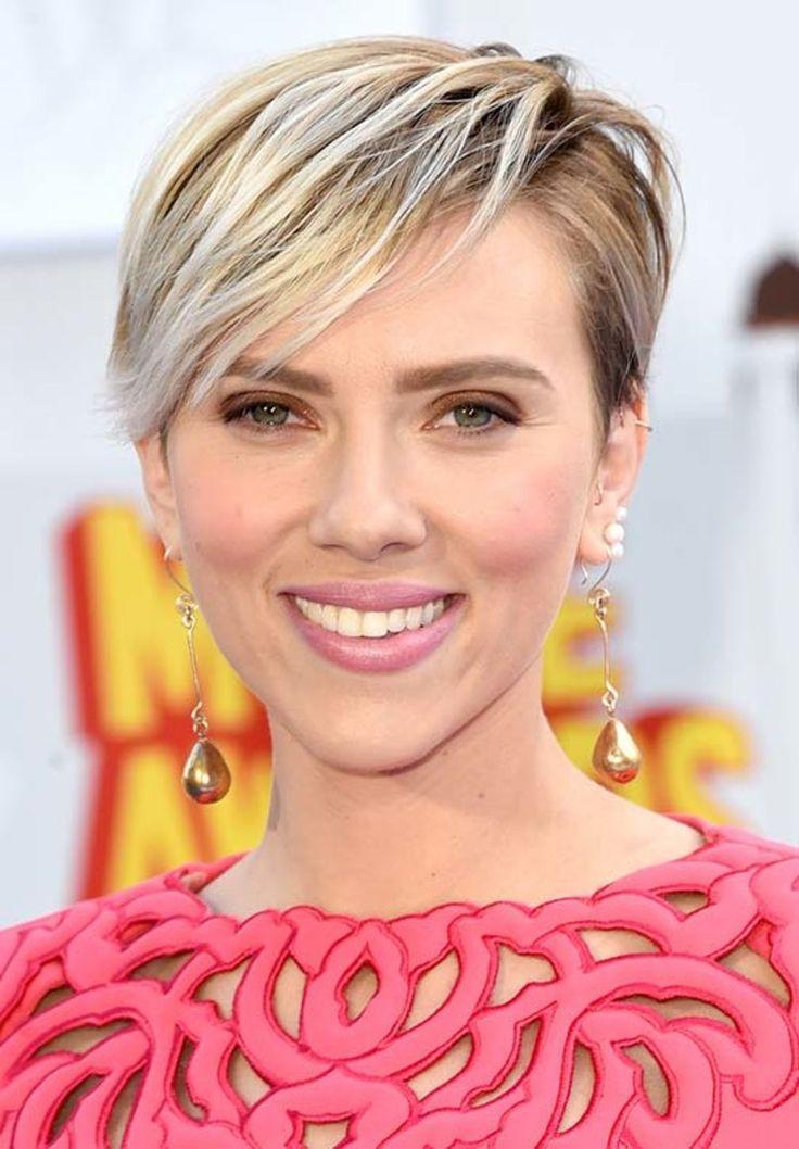 Scarlett Johansson  #hair #summer #blonde #meches