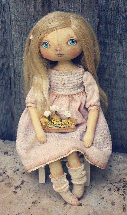 Куклы тыквоголовки ручной работы. Ярмарка Мастеров - ручная работа Лэсли. Handmade.