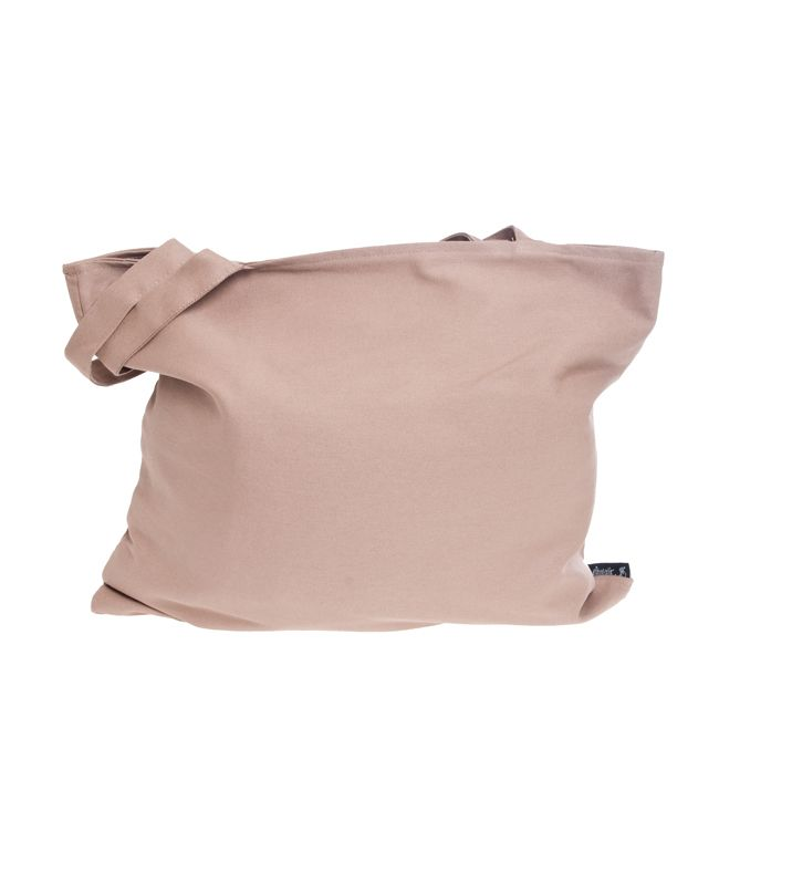 The Tortoise Trainer Beige Canvas Tote Bag for $39,90