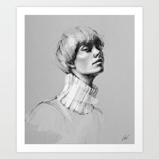 Portrait of a woman No.1 - $15