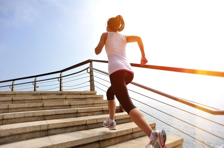Staircase Fat-burning Workout