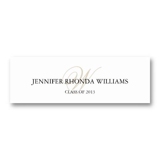 Graduation name cards template samannetonic graduation name cards template filmwisefo