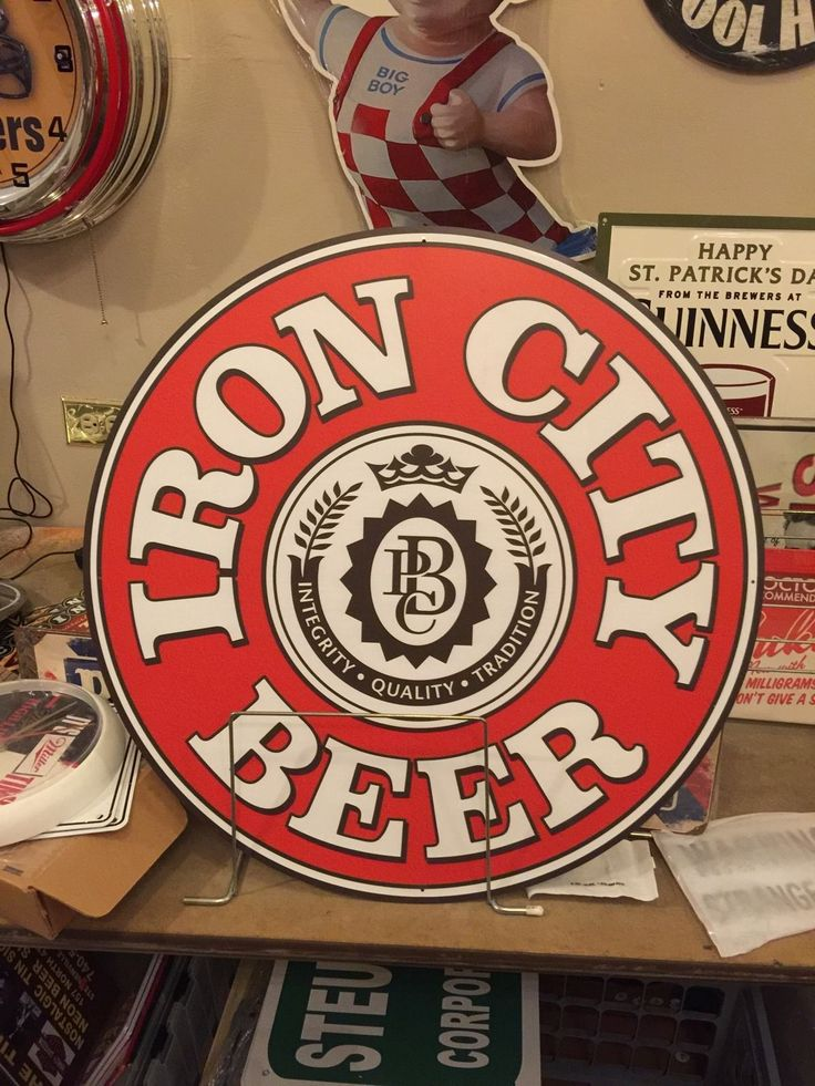 Iron City Beer Sign | eBay
