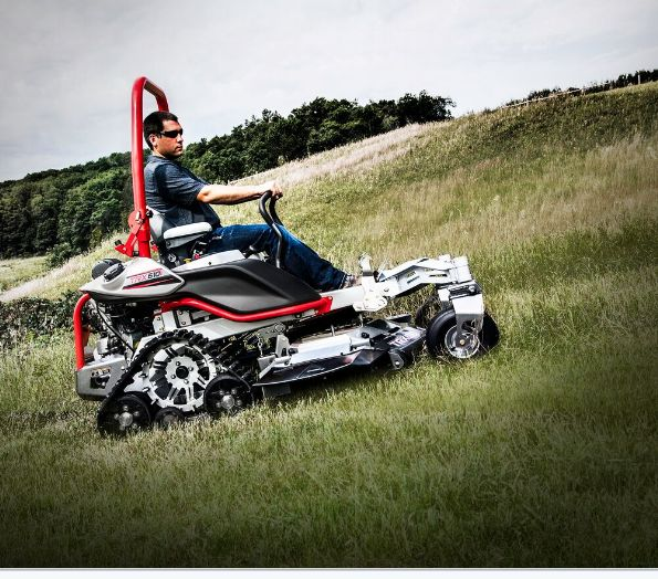 Altoz Introduces Industry S First Tracked Zero Turn Mower