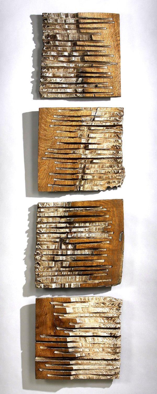 Alternate, by George Peterson. 2010 Gallery Lulo. Madera, inspiración para cerámica -