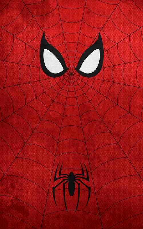 Affiches minimalistes de super héros