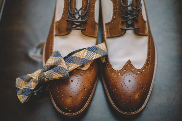 groom's accessories #bridal #love #weddings #shoes #bowtie #rustic #groom