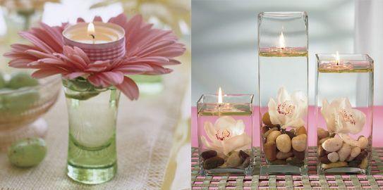 Decorate la vostra tavola in primavera con le candele, per avere un ambiente soft, romantico ma anche colorato. Eccovi alcuni spunti su come arricchire la tavola con originali centrotavola fatti di candele e altri piccoli decori profumati e vivaci.
