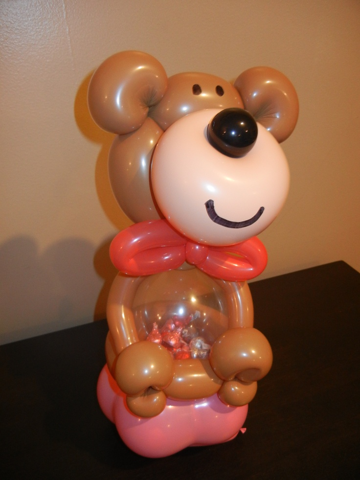 44 best images about balloon art on pinterest twists for Balloon decoration for valentines day