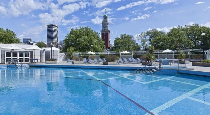 Sheraton Buenos Aires Hotel & Convention Center Buenos Aires Strategically located 400 metres from Florida Street, Sheraton Buenos Aires Hotel & Convention Center offers plush accommodation with privileged views of La Plata River. It features a spa, 2 pools and 2 restaurants.
