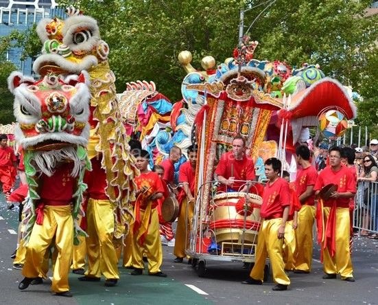 Melbourne Thrived on Moomba Celebrations 2014