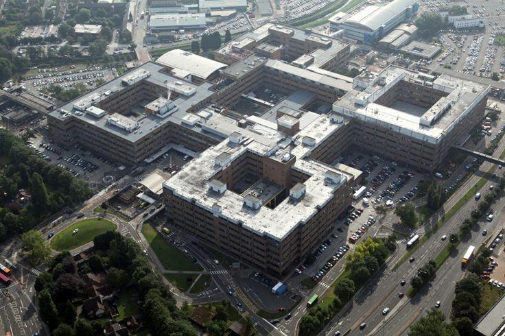 Queen's Medical Centre, Nottingham.