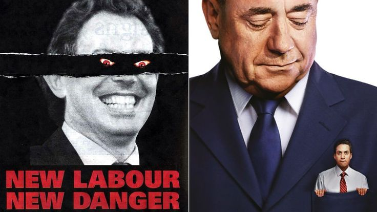 UK election posters: When politics gets personal - BBC News