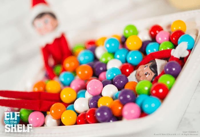 Gumball Pit | The Elf on the Shelf