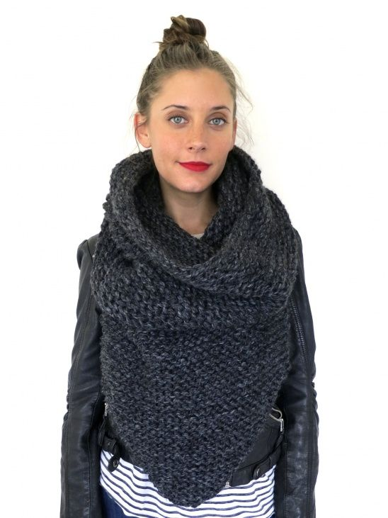 Poncho Vest Knitting Pattern : Armor scarf by two of wands crochet knitting sewing