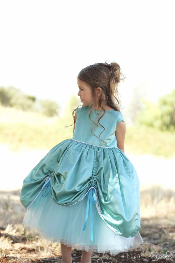 NEW SEWING PATTERN - She will be the belle of the ball with this princess gown! Complete sewing pattern for the Petite Princess Dress - love!!!