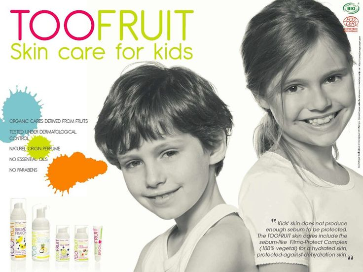 TOOFRUIT Skincare for Kids