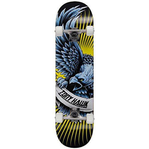 Tony Hawk Signature Series Tony Hawk 180 Series Skateboards (Raptor Hawk) The entry level skateboards in the Tony Hawk 180 Series are perfect for youngsters who are drawn to the sport from watching the man himself or even older kids at skatepar (Barcode EAN = 5055111324380) http://www.comparestoreprices.co.uk/december-2016-6/tony-hawk-signature-series-tony-hawk-180-series-skateboards-raptor-hawk-.asp