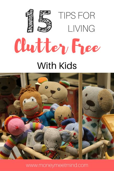 Living Clutterfree With Kids