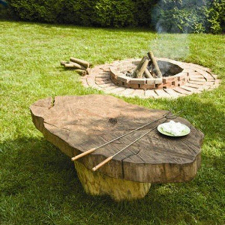 1000 Ideas About Stump Table On Pinterest: 1000+ Images About Tree Stump Creations On Pinterest