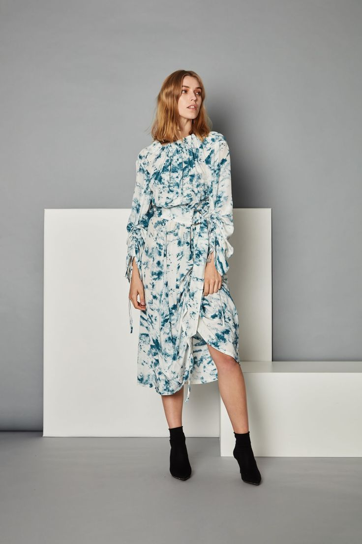 Collation Dress - Submerge Print