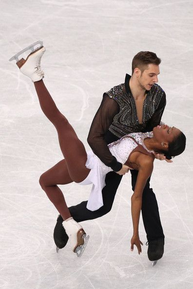 Vanessa James and Morgan Cipres of France compete in the Pairs Free Program during ISU World Figure Skating Championships at Saitama Super Arena on March 27, 2014 in Saitama, Japan.