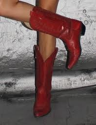 I do believe I NEED a pair of red boots!!!  I do believe you got a pair...way to go Shoe Gallery!!!