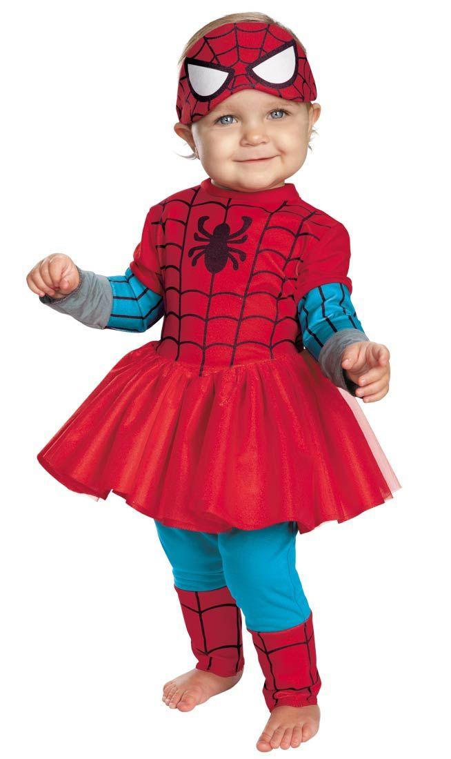 spider girl baby costume spiderman costumes - Spider Girl Halloween Costumes