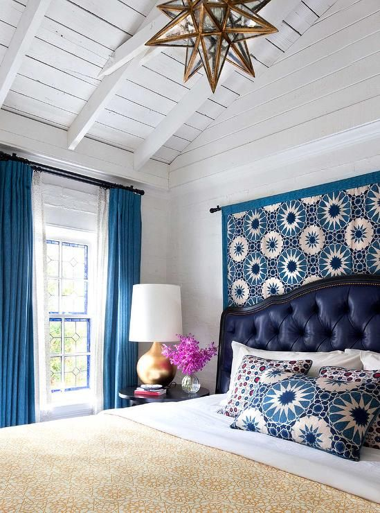 purple bedroom mediterranean matching - photo #48