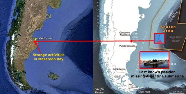 The following amazing statement comes from a witness who has experienced a very strange encounter next to the Mazaredo bay in Argentine on December 2, 2017. The strange event was so overwhelming that the witness felt compelled to report the encounter to the Mutual UFO Network case 88710 including detailed satellite images showing the area where he has experienced the encounter. The witnessstates: We did a trip by national route 281 to Puerto Deseado (Santa Cruz, Patagonia, Argentina) at the…