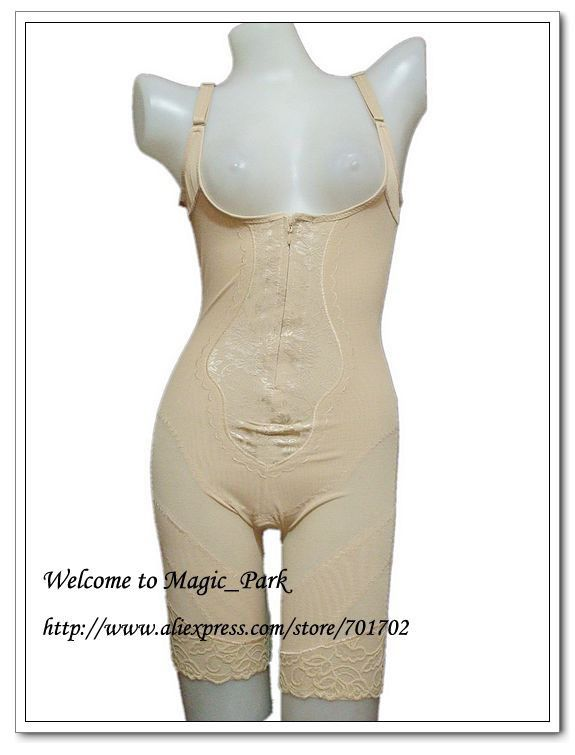 Азии Sz 4X-6X Полный формирователь тела Сетки Грудью Бесшовные Боди Талия shaper Плюс Размер вырезами Магия органа shaper Shaperwear