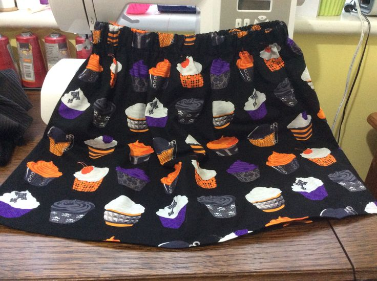 Simple gothic cupcake skirt