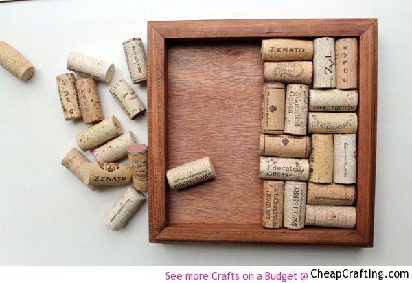 Wine Cork Trivet #DIY #Cheap Project Tutorial
