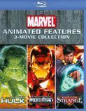 Marvel Animated Features 3-Movie Collection [3 Discs] [Blu-ray]