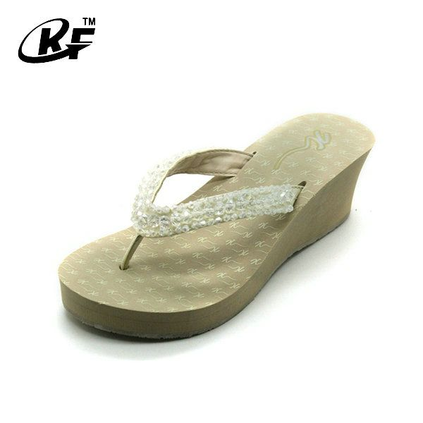 TPR&EVA Women High Heel Flip Flops, View Women High Heel Flip Flops,  Kangfeng Product