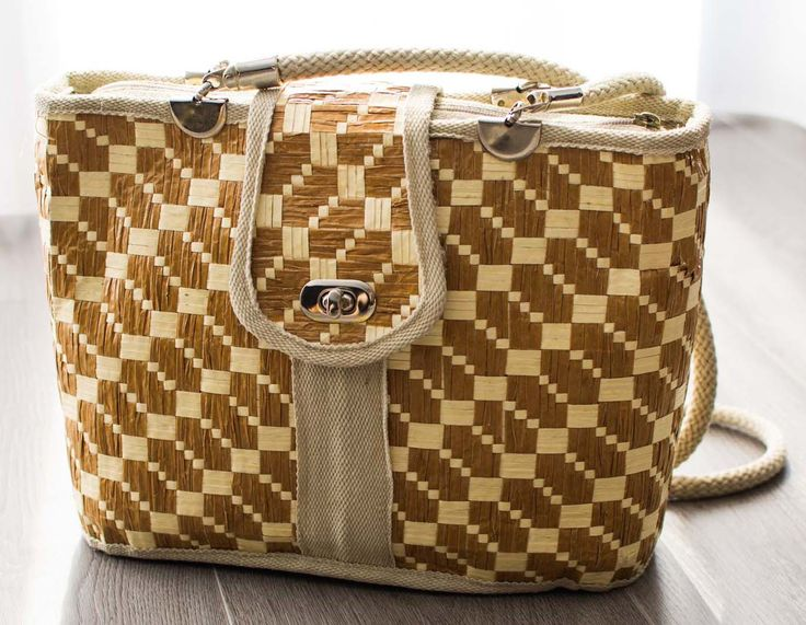 Straw Handbag Italy