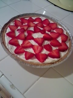 ... Party on Pinterest | Food cards, Strawberry cream cheese pie and