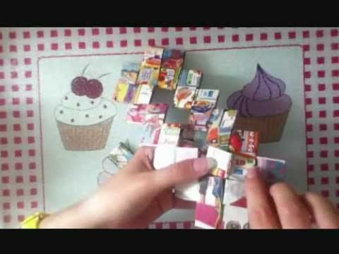 How To Make A Flat Bottom Candy Wrapper Purse / Bag
