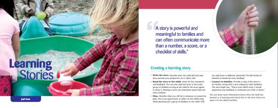 Learning Stories by Judi Pack
