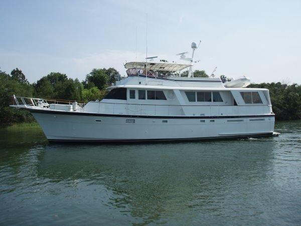 1981 Hatteras Motor Yacht Power Boat For Sale - www.yachtworld.com