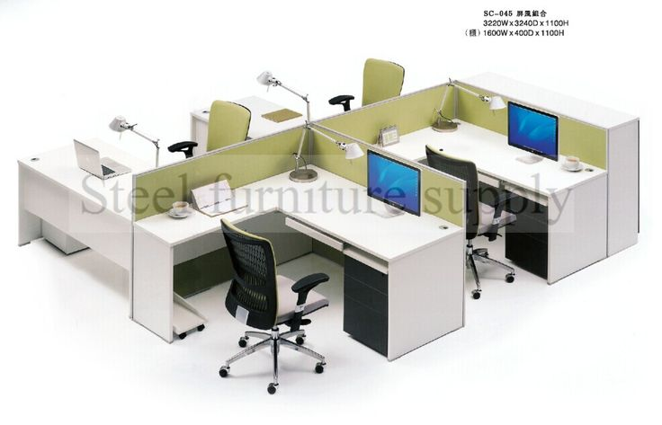 Wooden Office Cubicle,Office Cubicle Workstation,Modern Design ...
