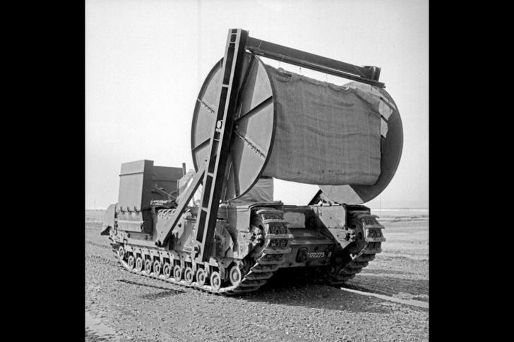 Bobbin tank
