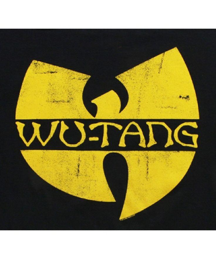 wu-tang clan logo pics | WU TANG CLAN Classic Logo T-Shirt Logo