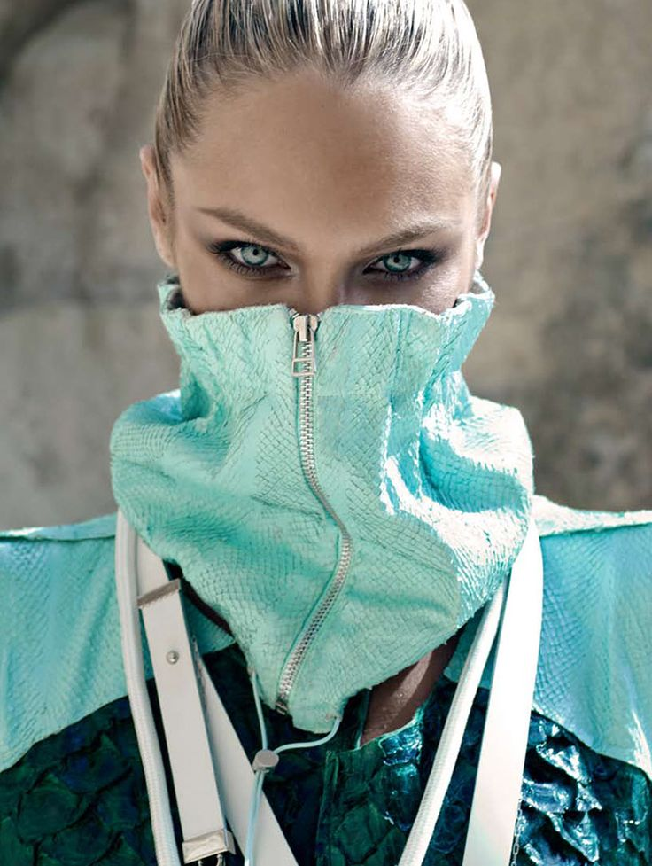 Candice Swanepoel Takes on Sporty Glam Style for Elle Brazil