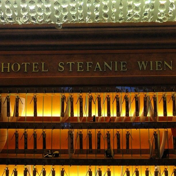 Schick Hotel Stefanie in Vienna, Austria is the oldest hotel in Vienna. #feelaustria